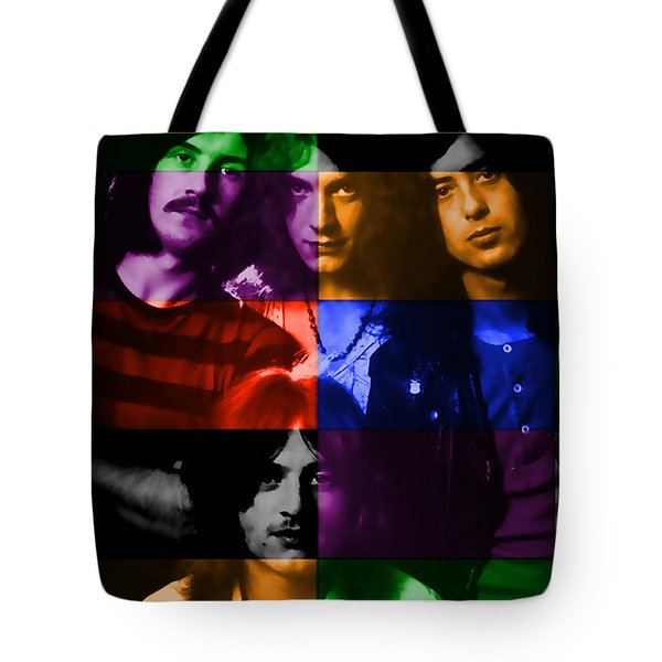 Led Zeppelin Tote Bag by Marvin Blaine