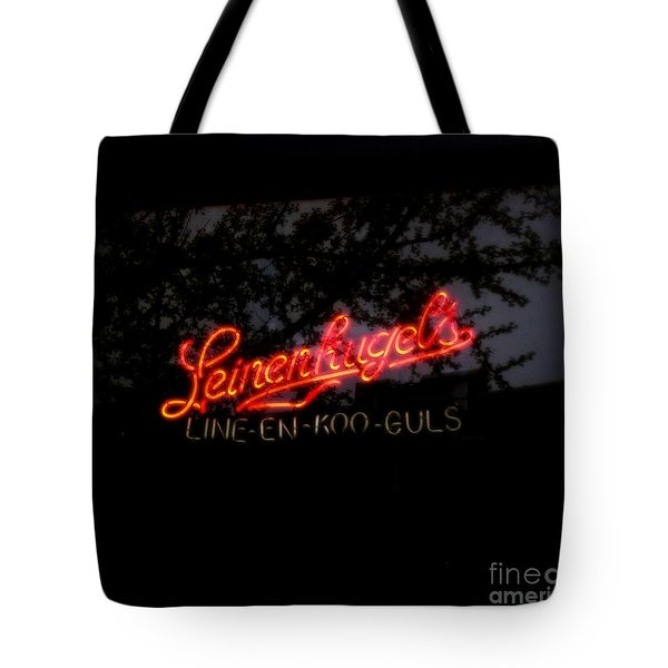 Leinenkugel's Tote Bag by Kelly Awad