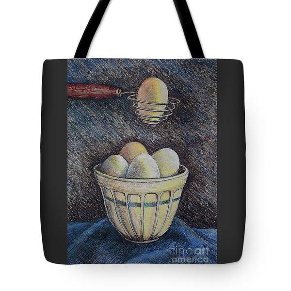 Lets Cook Tote Bag by Linda Simon