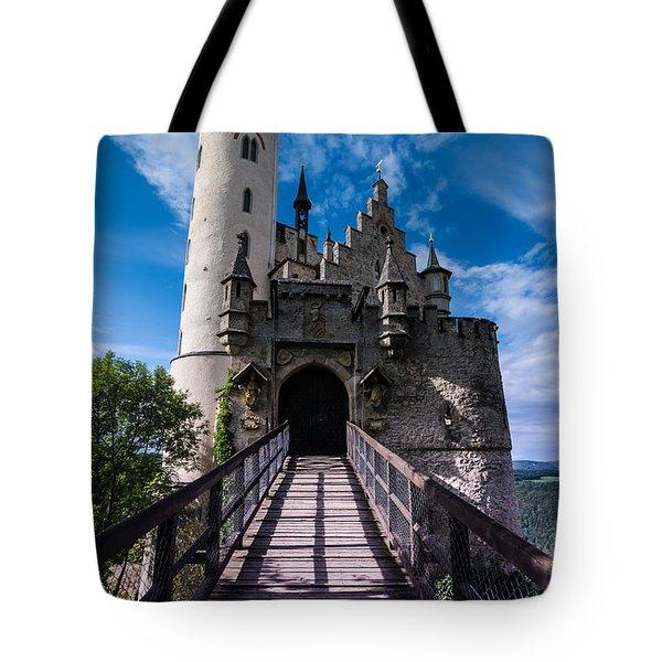 Lichtenstein Castle - Baden-wurttemberg - Germany Tote Bag