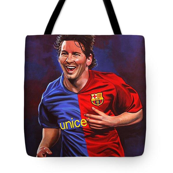 Lionel Messi  Tote Bag