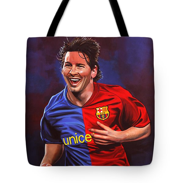 Lionel Messi  Tote Bag