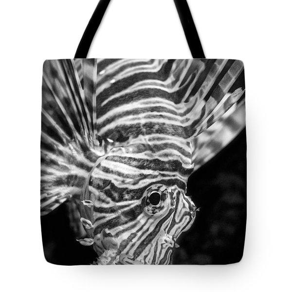 Lionfish Tote Bag by Jamie Pham