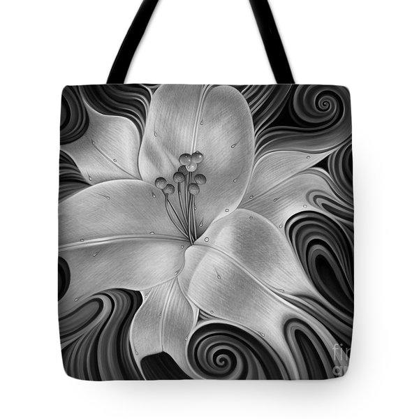 Lirio Dinamico Tote Bag