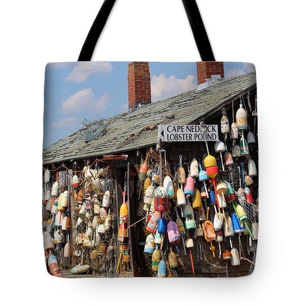 Lobsta House Tote Bag
