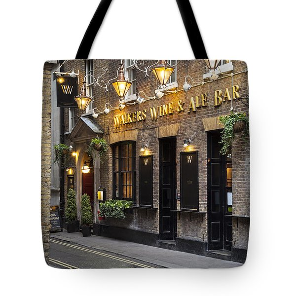 London Pub Tote Bag
