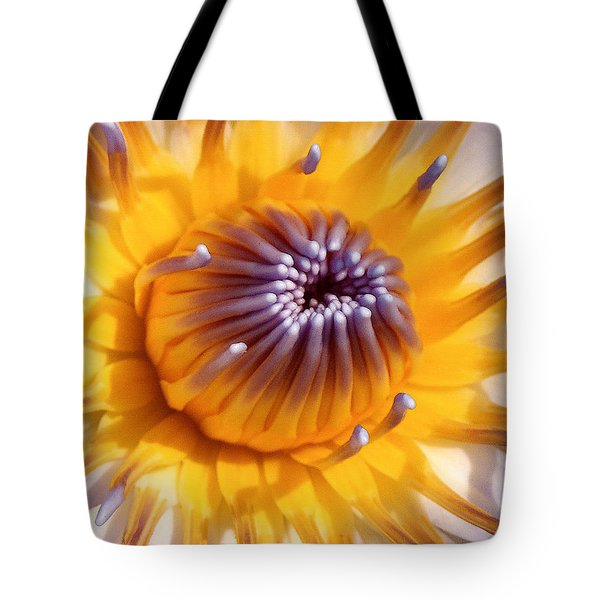 Lotus Lily Tote Bag
