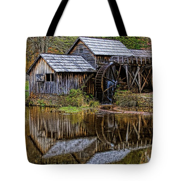 Tote Bag featuring the photograph Mabry Mill by Ola Allen