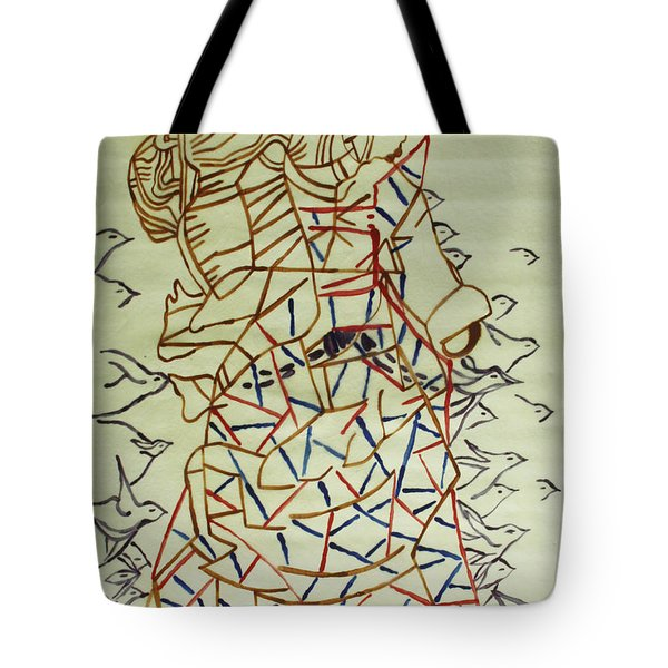 Mama Asia Tote Bag by Gloria Ssali