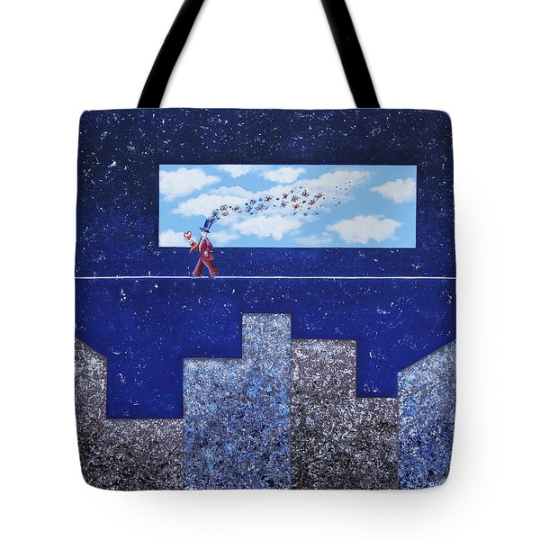 Man In Love Tote Bag by Graciela Bello