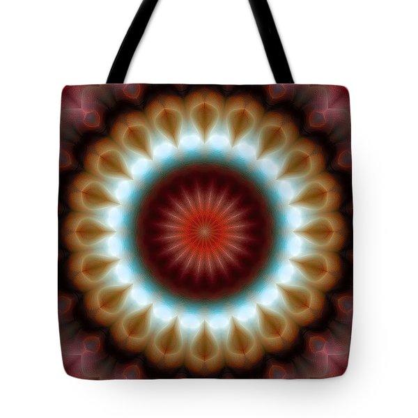 Mandala 83 Tote Bag by Terry Reynoldson