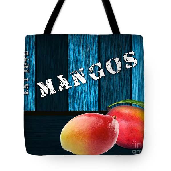 Mango Farm Sign Tote Bag