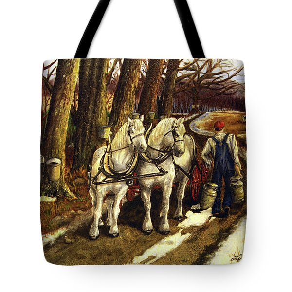 Maple Way Tote Bag