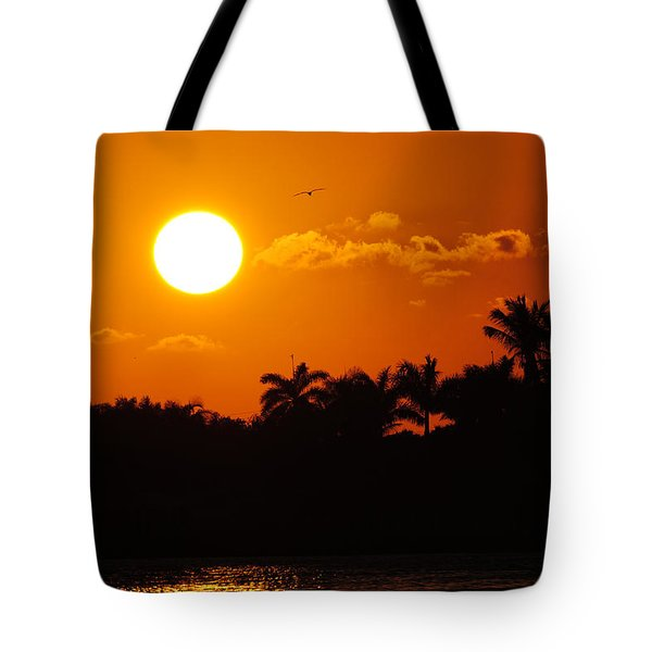 Marco Island Sunset Tote Bag
