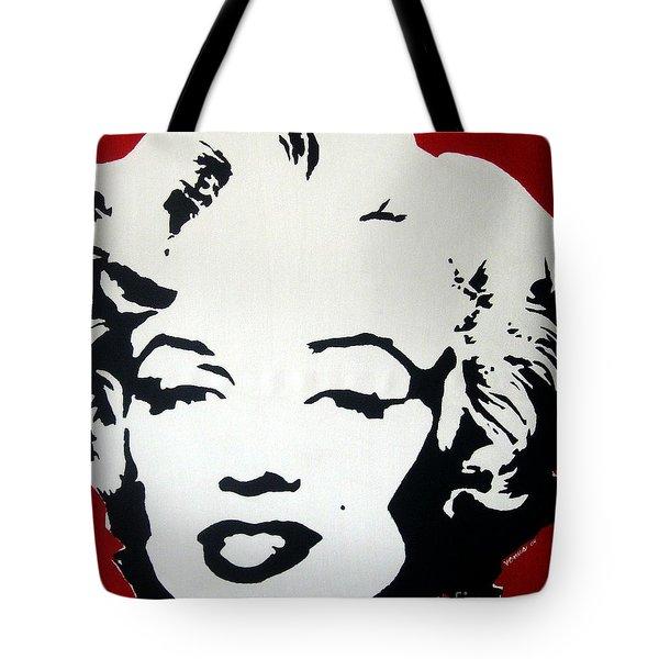 Marilyn Monroe Tote Bag by Venus