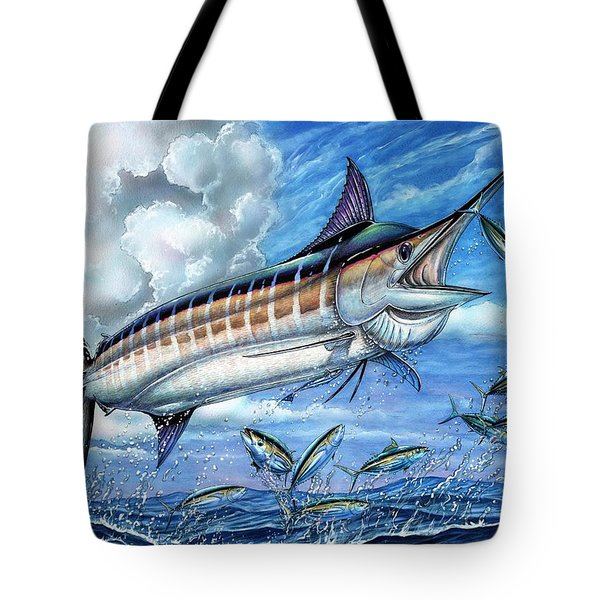 Marlin Queen Tote Bag