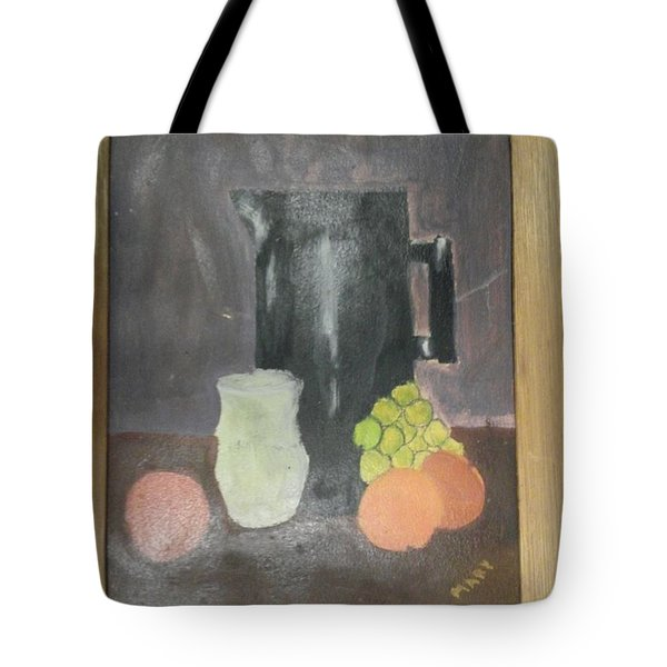 Tote Bag featuring the painting #2 by Mary Ellen Anderson