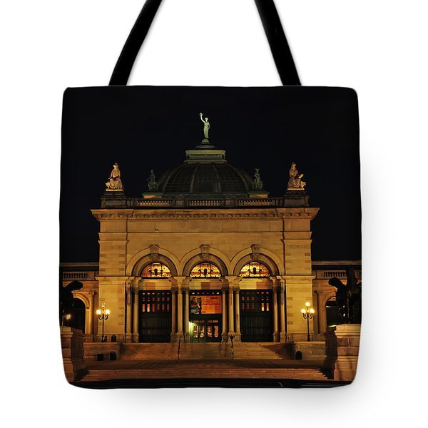 Memorial Hall - Philadelphia Tote Bag by Bill Cannon