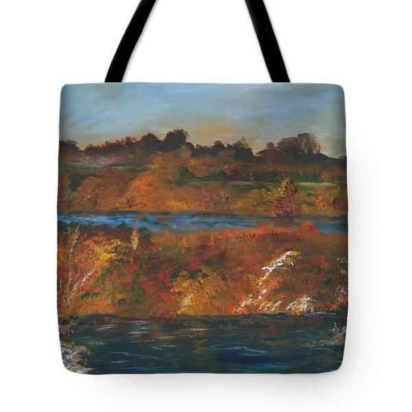 Mendota Slough Tote Bag