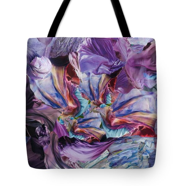 Merlin's Magic Tote Bag by Denise Mazzocco