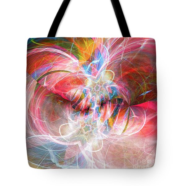 Tote Bag featuring the digital art Metamorphosis  by Margie Chapman