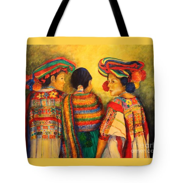 Mexican Impression Tote Bag by Dagmar Helbig
