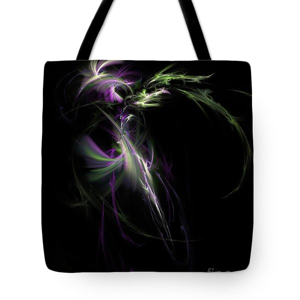 Midnight Bouquet Tote Bag by Elizabeth McTaggart