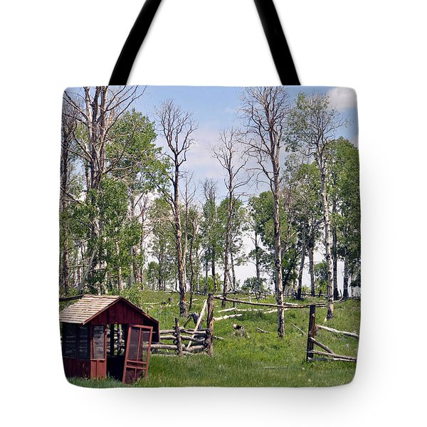 2 Mile Ranch  Tote Bag