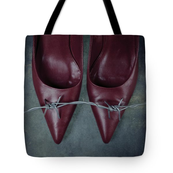 Mind Your Steps Tote Bag by Joana Kruse