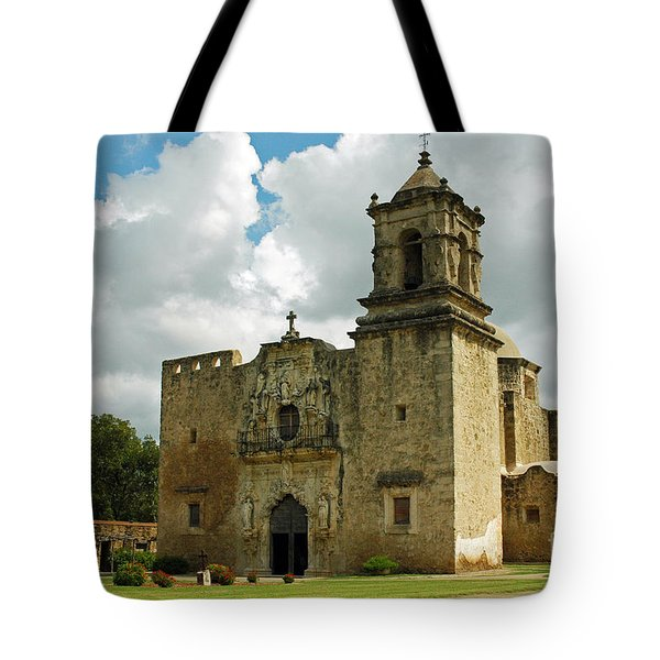 Tote Bag featuring the photograph Mission San Jose by Olivia Hardwicke