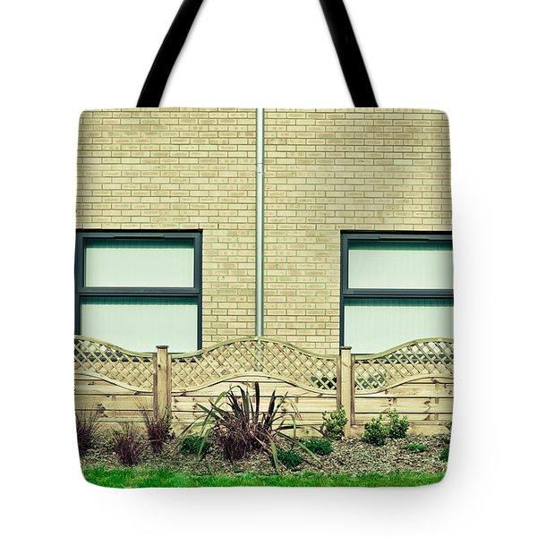 Modern Building Tote Bag by Tom Gowanlock