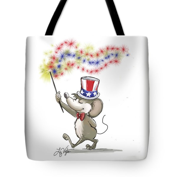 Moe's Happy 4th Of July Tote Bag