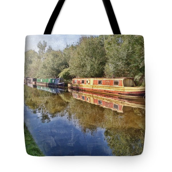 Moored Up Tote Bag