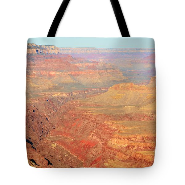 Morning Colors Of The Grand Canyon Inner Gorge Tote Bag