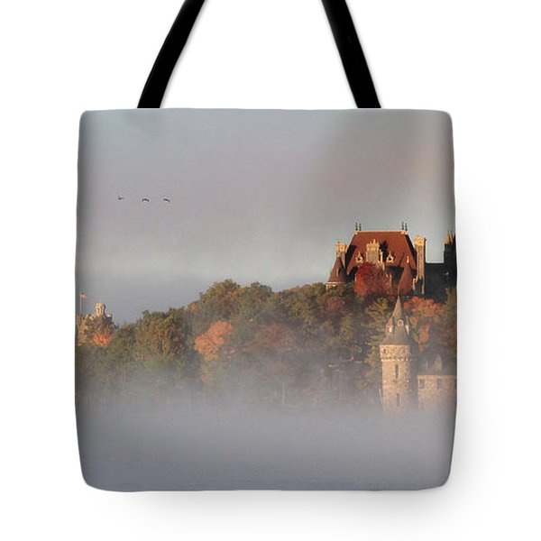 Morning Has Broken Tote Bag by Lori Deiter