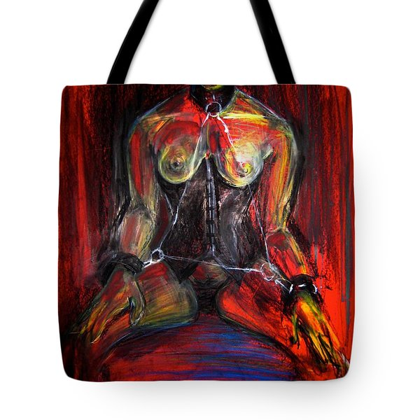 Tote Bag featuring the drawing Motel 6 by Gabrielle Wilson-Sealy