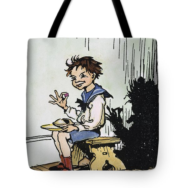 Mother Goose: Jack Horner Tote Bag by Granger