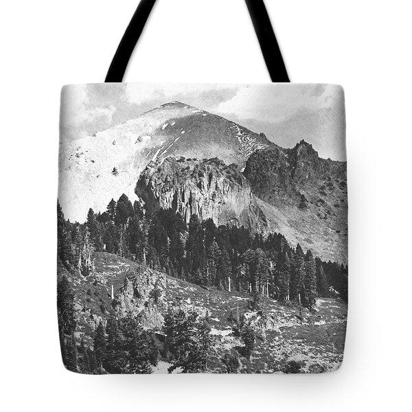 Mount Lassen Volcano Tote Bag by Frank Wilson