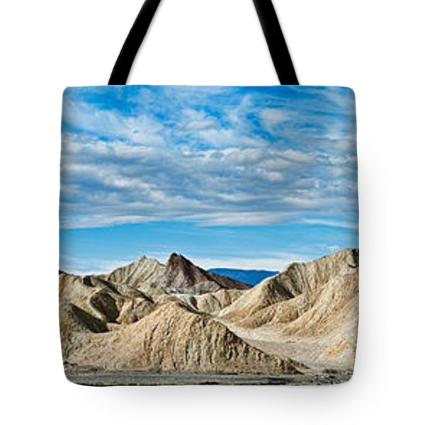Mountain Range, Twenty Mule-team Tote Bag