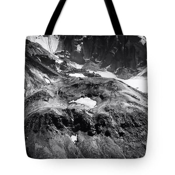Tote Bag featuring the photograph Mt St. Helen's Crater by David Millenheft
