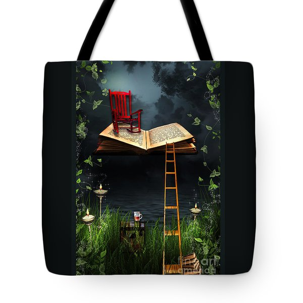 My Book Said Come Fly With Me Tote Bag by Paula Ayers