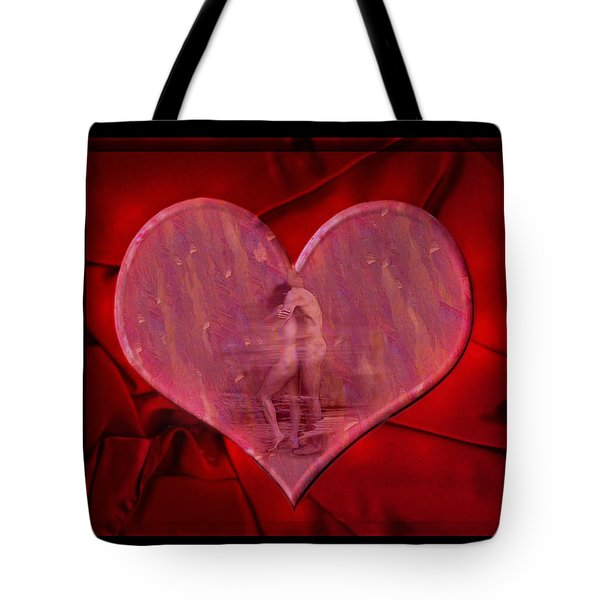 My Hearts Desire Tote Bag by Kurt Van Wagner