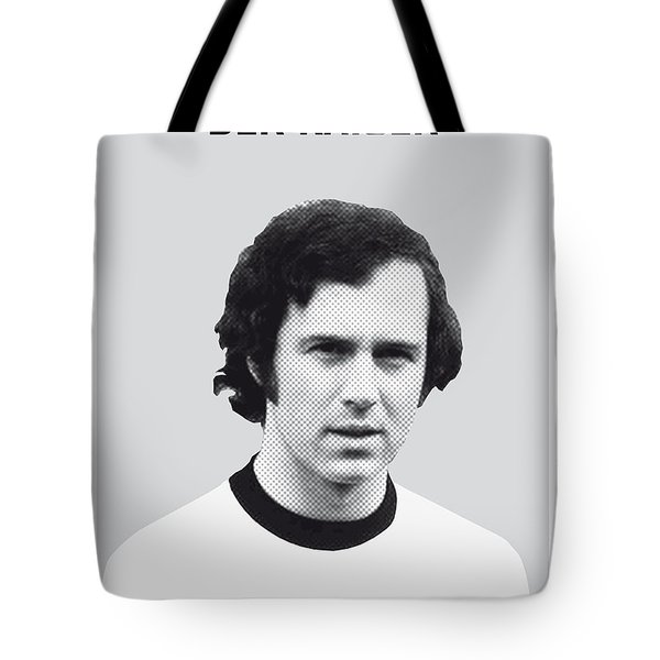 My Maradona Soccer Legend Poster Tote Bag