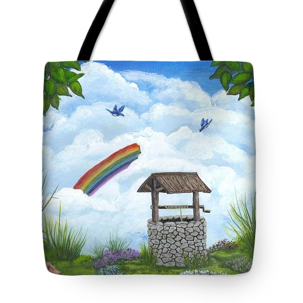 My Wishing Place Tote Bag by Sheri Keith