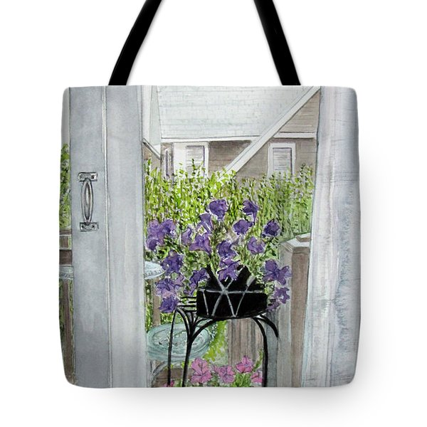 Nantucket Room View Tote Bag