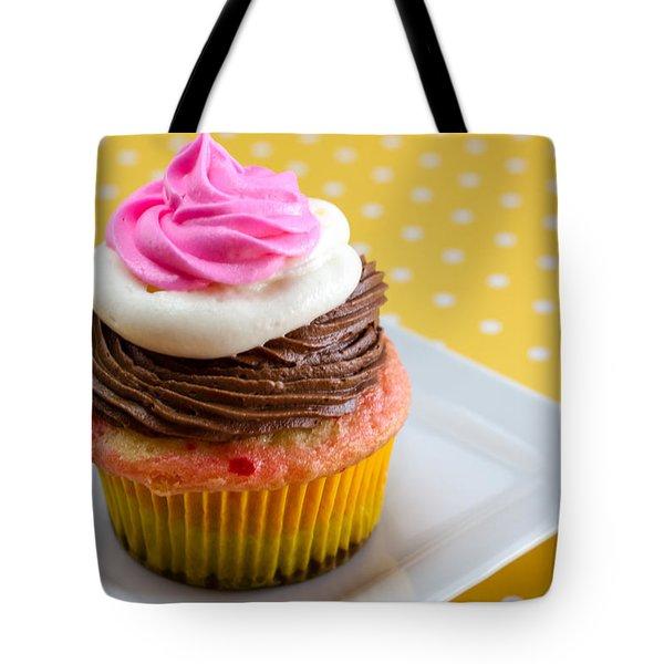 Neapolitan Cupcakes Tote Bag