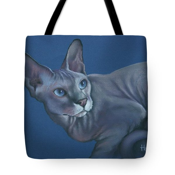 Tote Bag featuring the painting Nefertiti by Cynthia House
