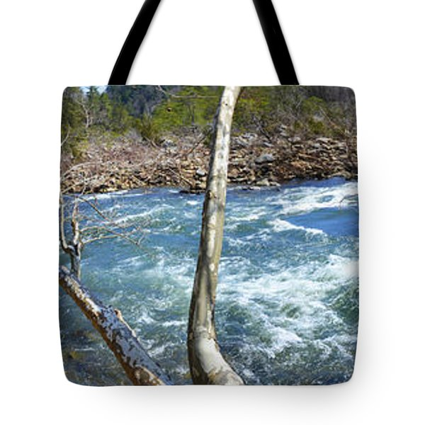 Tote Bag featuring the photograph Nemo Rapids by Paul Mashburn