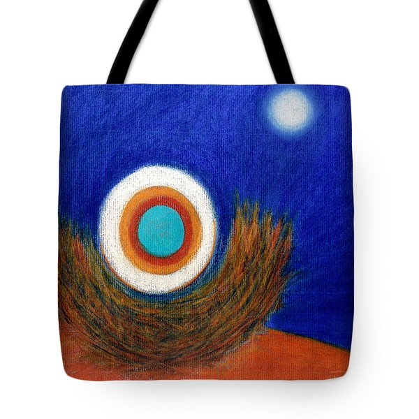 Nesting Moon Tote Bag