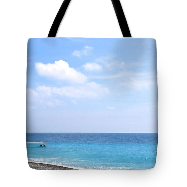 Nice  Tote Bag by Suzanne Oesterling